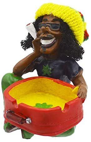 8. Rockin Rasta Figurine Ashtray