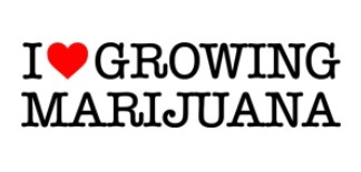 I Love Growing Marijuana Logo