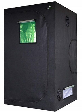 CoolGrows GT Indoor Mylar Hydroponics Grow Tent