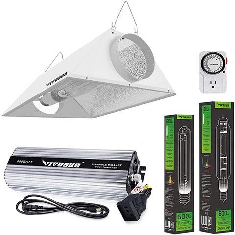 VIVOSUN Hydroponic HPS MH Grow Light