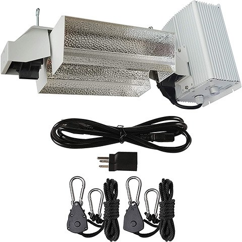 Hydro Crunch DE01-1000-ROPE Double Ended Grow Light System