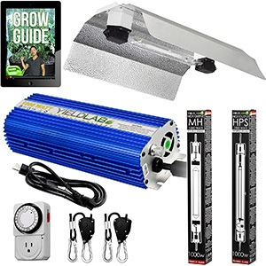 Yield Lab Pro Series Double Ended Hood Grow Light Kit